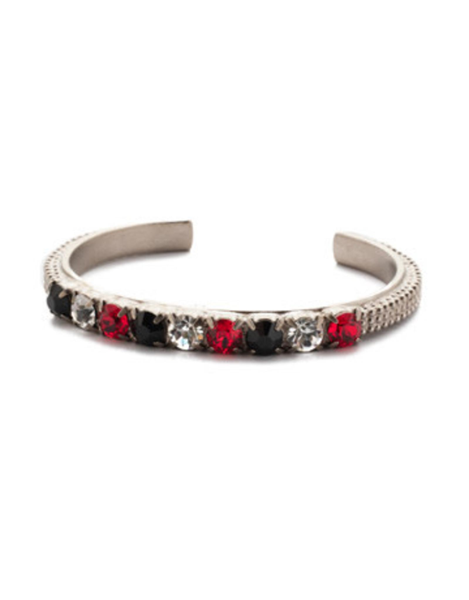 Sorrelli 4BEN11ASGDAR - Game Day Red Macy Cuff Bracelet