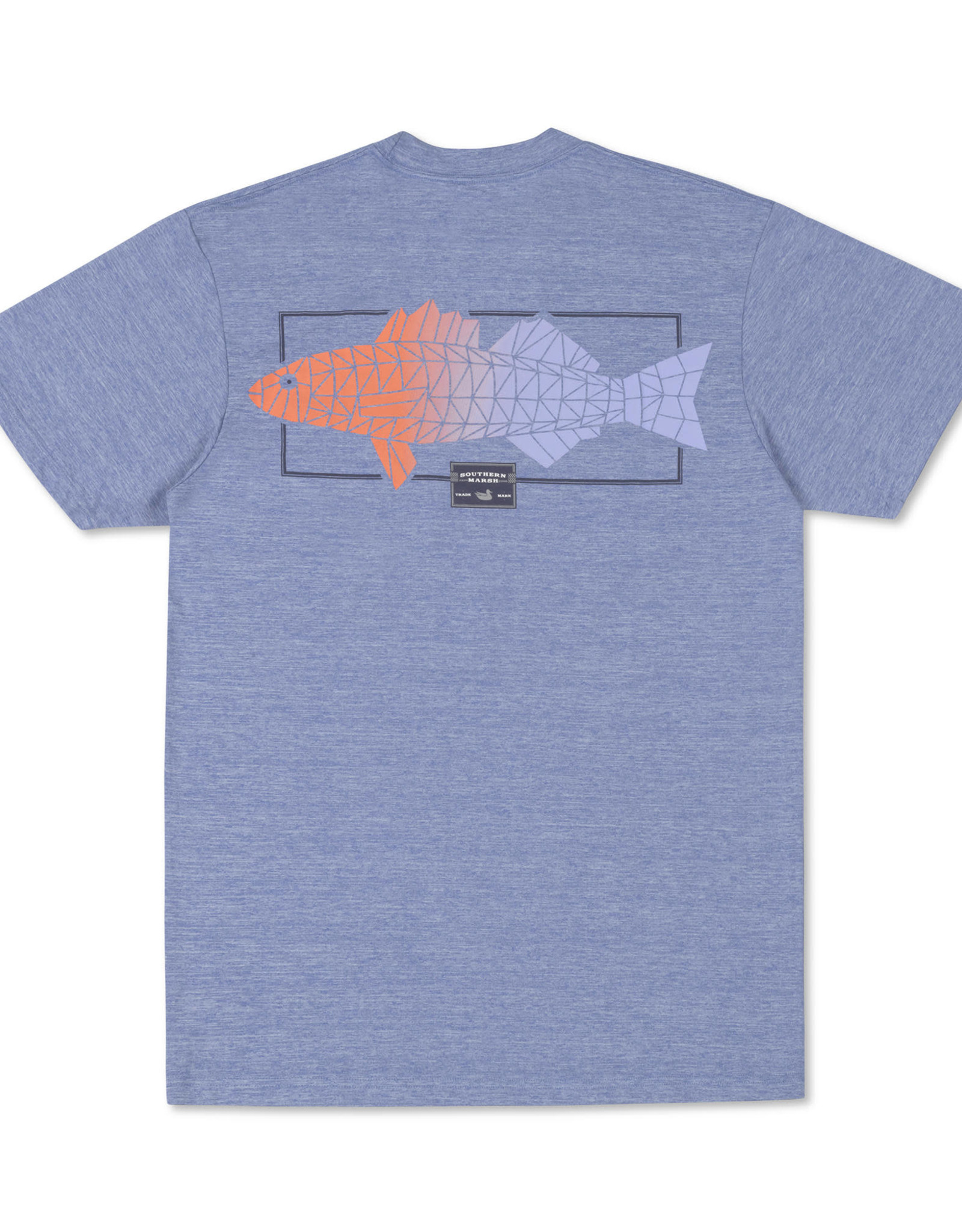 Southern Marsh GGFG -Fieldtec Heathered SS Tee - Gradient Scales