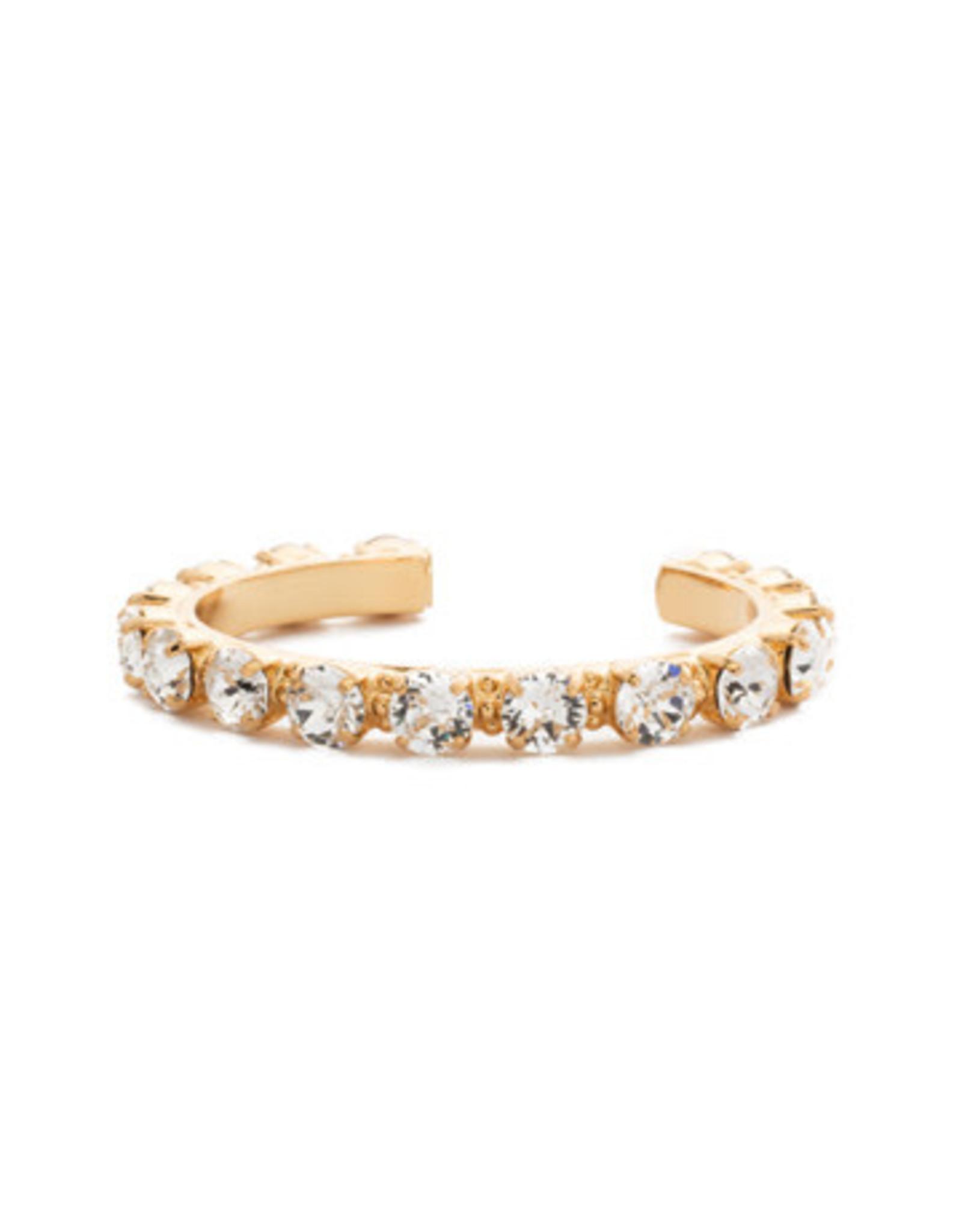 Sorrelli BCL23BGCRY - Crystal Riveting Romance Cuff Bracelet