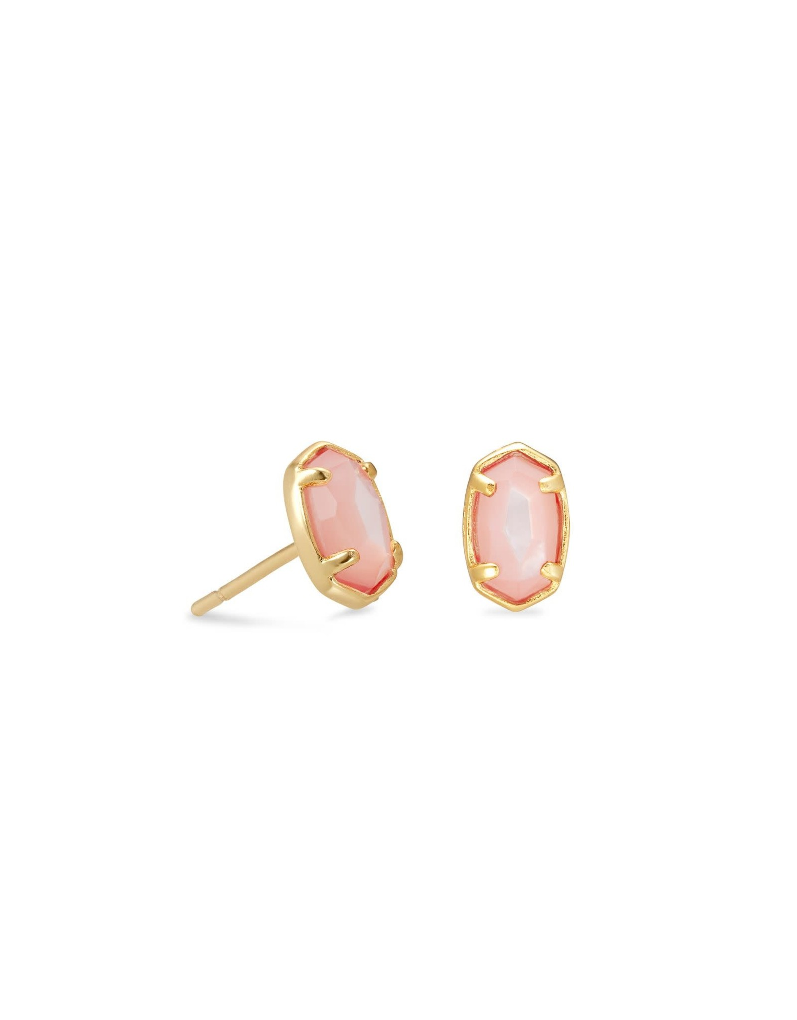 Kendra Scott Emilie Stud Earring - Rose MOP/Gold