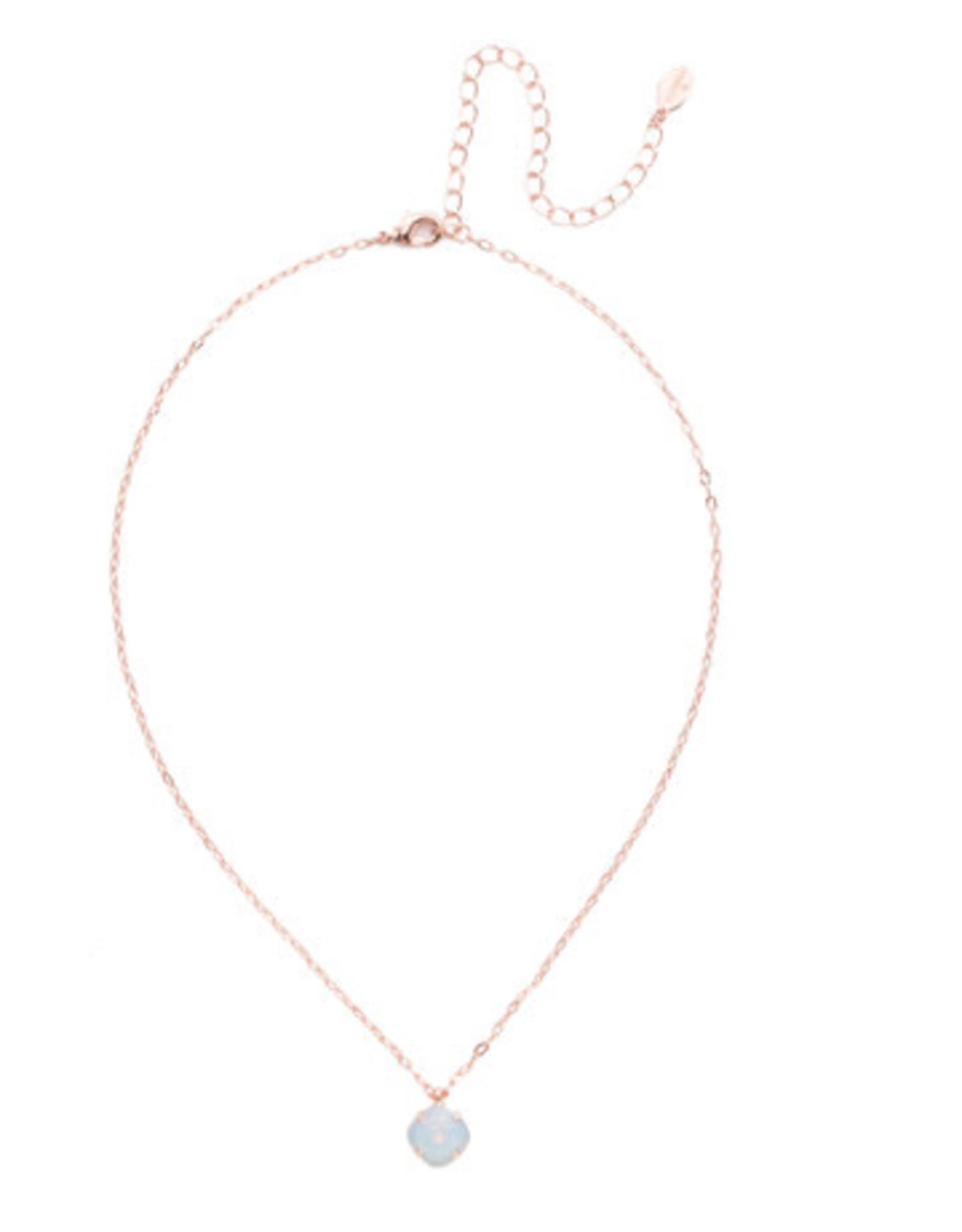 Sorrelli NEP22RGWO - White Opal Siren Pendant Necklace