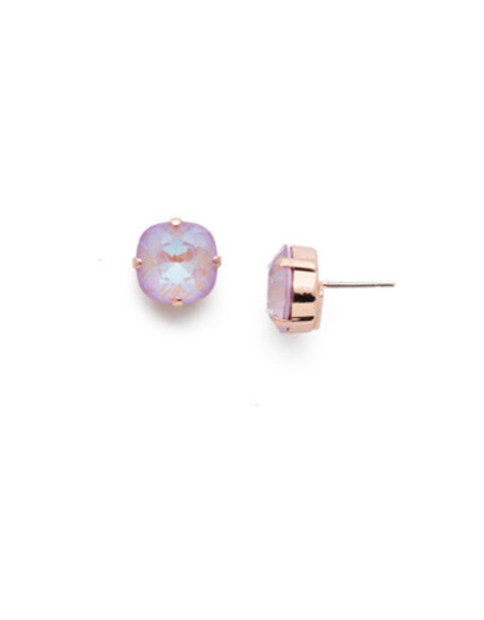 Sorrelli EDH25RGLVP - Lavender Peach Halcyon Stud Earrings