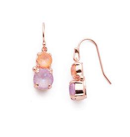 Sorrelli EEA9RGLVP - Lavender Peach Adelina Dangle Earrings