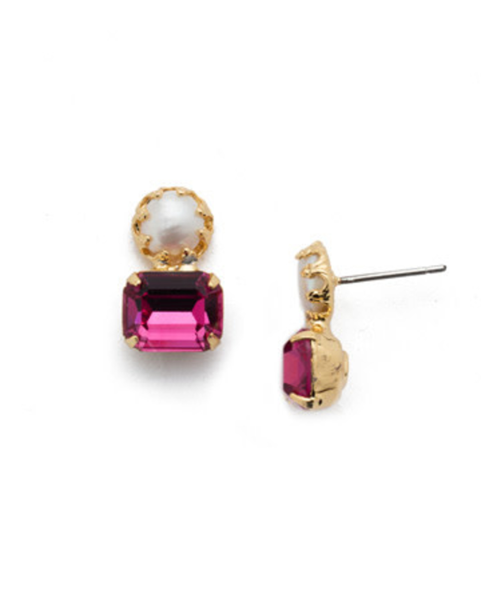 Sorrelli EES10BGBGA - Begonia Deandra Stud Earrings