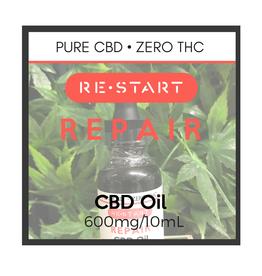 RESTART 60 Repair CBD Oil • NO THC