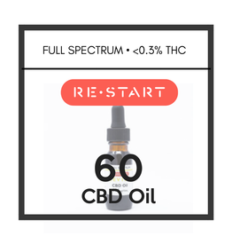 RESTART 60 CBD Oil • Full Spectrum