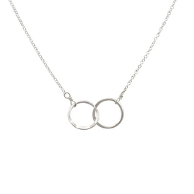 Becoming Jewelry Becoming Jewelry Intertwined Circles - Silver
