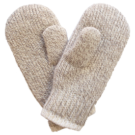 Fox River Classic Double Ragg Mitten - Brown Tweed