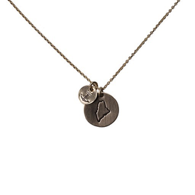 Emma Alexander Emma Alexander Necklace - Maine Charms - 14K Gold-Fill