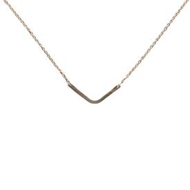 Emma Alexander Emma Alexander Necklace - Small Chevron - 14K Gold-Fill