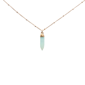 Emma Alexander Emma Alexander Necklace - Gemstone Chalcedony - 20in 14K Gold-Fill