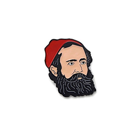 Collective IQ Design Collective IQ Design Cloisonne Pin - Paul Bunyan Lumberjack