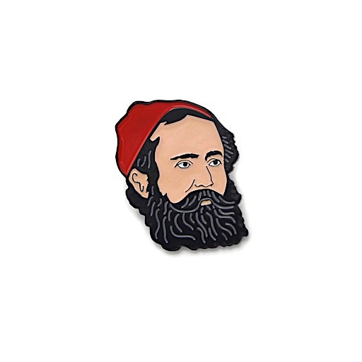 Collective IQ Design Cloisonne Pin - Paul Bunyan Lumberjack