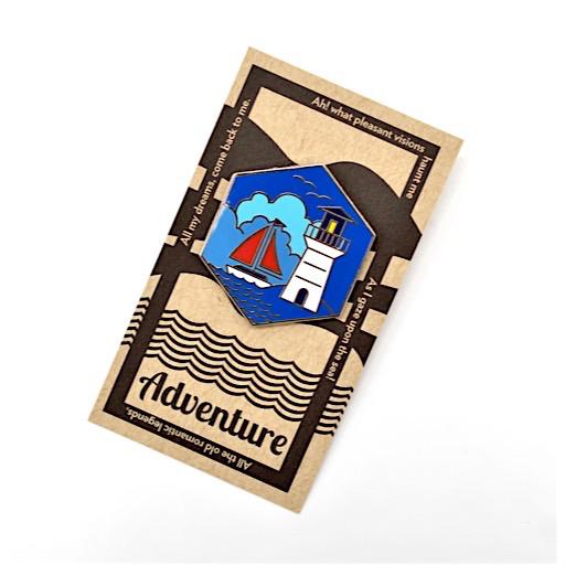 Collective IQ Design Cloisonne Pin - Adventure