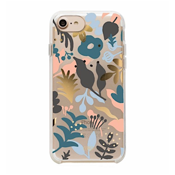 Rifle Paper Rifle Paper Co. iPhone 6, 7 & 8 Case - Clear Sun Print