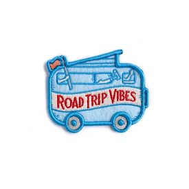 Ello There Ello There - Road Trip Vibes Felt Puff Sticky Patch
