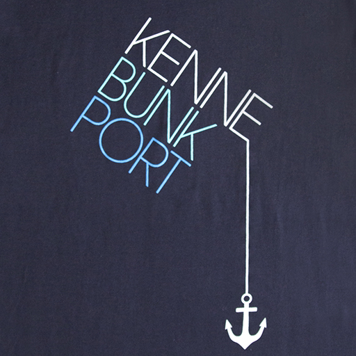 Kennebunkport Drop Anchor T-Shirt - Navy - Extra Small