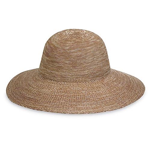 Wallaroo Hat Company Victoria Diva Hat - Mixed Camel