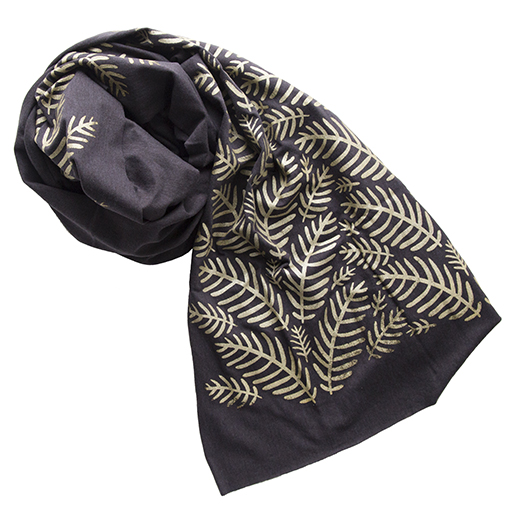 Morris & Essex Scarf - Tropical Leaves