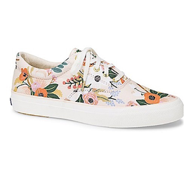 KEDS KEDS Adult + Rifle Paper Co. - Anchor /  Lively Floral - Pink
