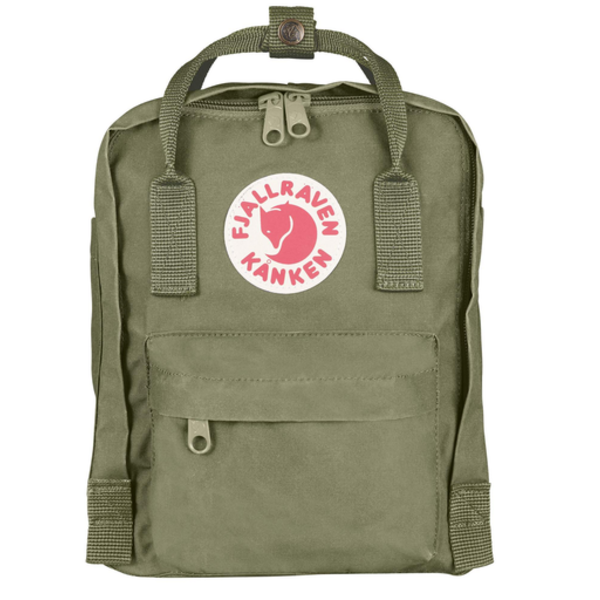 Fjallraven Arctic Fox LLC Fjallraven Kanken Mini Backpack - Green