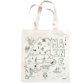 Maptote Maine Grocery Tote