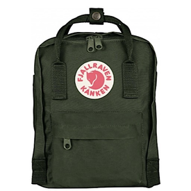 Fjallraven Arctic Fox LLC Fjallraven Kanken Mini Backpack - Forest Green