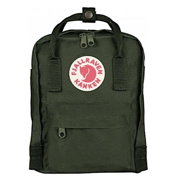 Fjallraven Arctic Fox LLC Fjallraven Kanken Mini Backpack - Forest Green