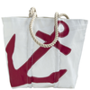 Sea Bags Red Anchor Tote