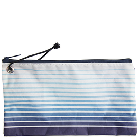 Sea Bags Sea Bags Custom Daytrip Society Ombre Stripe Wristlet