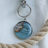 Sea Bags Custom Daytrip Society Maine Map Tote - Hemp Handle - Large