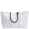 Sea Bags Custom Daytrip Society Coordinates Tote - Navy Handle - Large