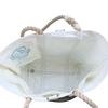 Sea Bags Custom Daytrip Society Ombre Stripe Tote - Hemp Handle White Whipping - Medium