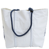 Sea Bags Custom Daytrip Society Coordinates Tote - Navy Handle - Medium