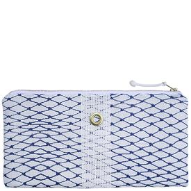 Alaina Marie Alaina Marie Bait Bag Clutch - Navy & White