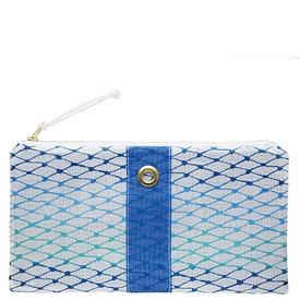 Alaina Marie Alaina Marie Bait Bag Clutch - Custom Ombre Blue