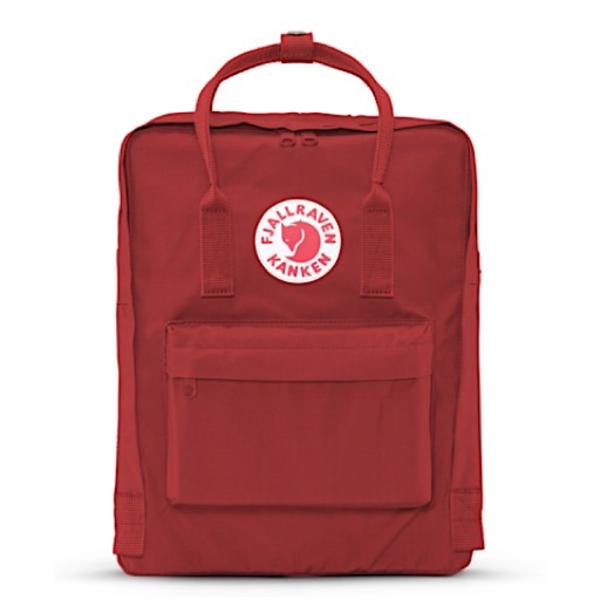 Fjallraven Arctic Fox LLC Fjallraven Kanken Classic Backpack - Deep Red