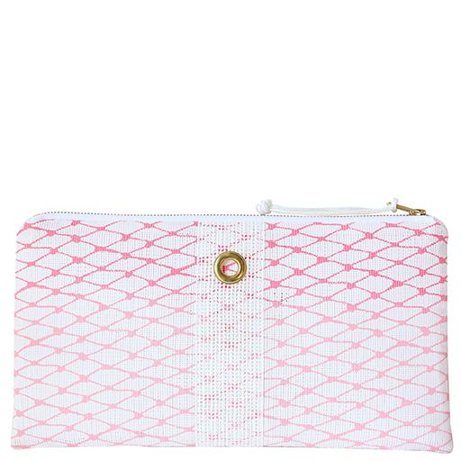Alaina Marie Bait Bag Clutch - Custom Ombre Pink