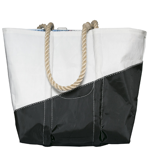 Sea Bags Custom Daytrip Society World Map Tote - Hemp Handle - Medium