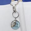 Sea Bags Custom Daytrip Society Maine Map Handbag Tote - Hemp Handle - Small