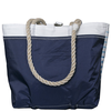 Sea Bags Custom Daytrip Society Ombre Stripe Tote - Hemp Handle White Whipping - Handbag