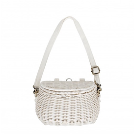 Olli Ella Olli Ella Mini Chari Bag - White