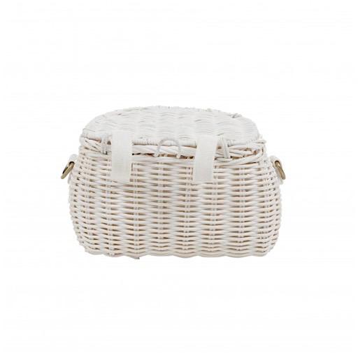 Olli Ella Mini Chari Bag - White