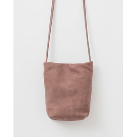 Baggu Baggu Leather Cross Body Purse - Taro Nubuck