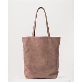 Baggu Baggu Basic Leather Tote - Taro Nubuck