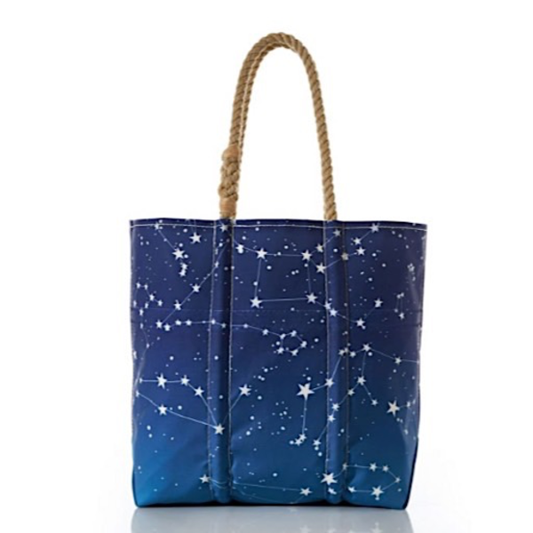 Sea Bags Sea Bags Starry Night Tote - Medium