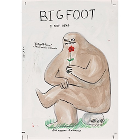 Penguin Bigfoot I Not Dead