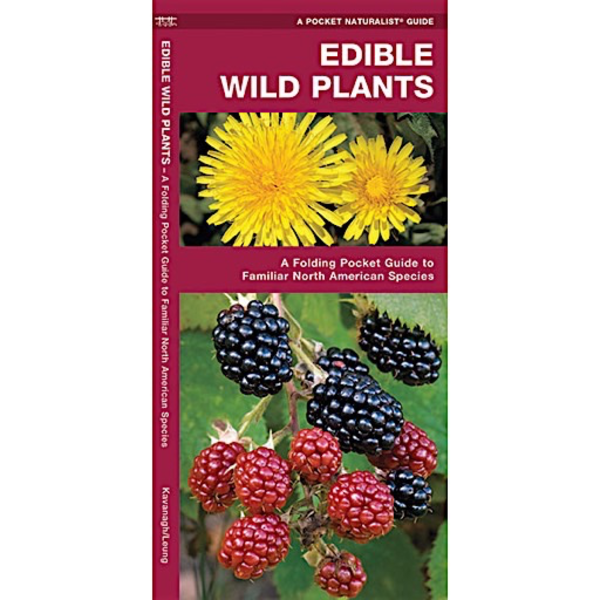 Waterford Press A Pocket Naturalist Guide - Edible Wild Plants