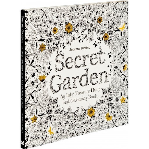 Chronicle Secret Garden - An Inky Treasure Hunt and Coloring Book