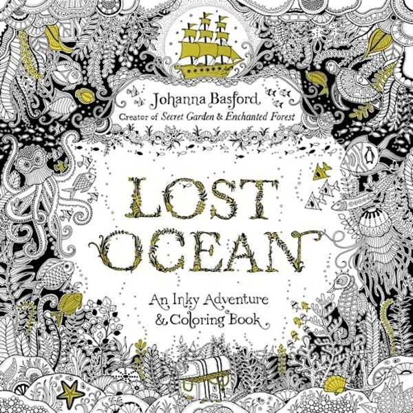 Penguin Lost Ocean: An Inky Adventure and Coloring Book